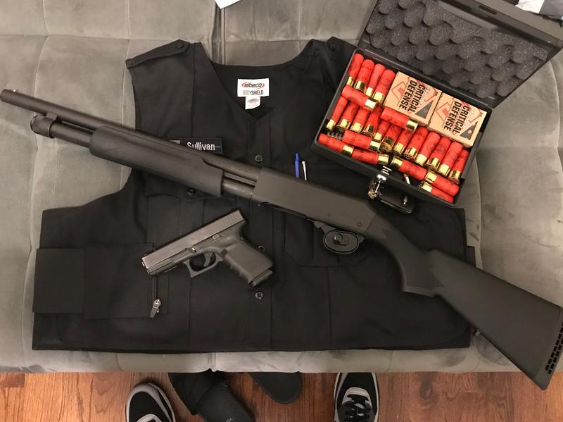 H&R Pardner Pump Protector Pump Action Shotgun