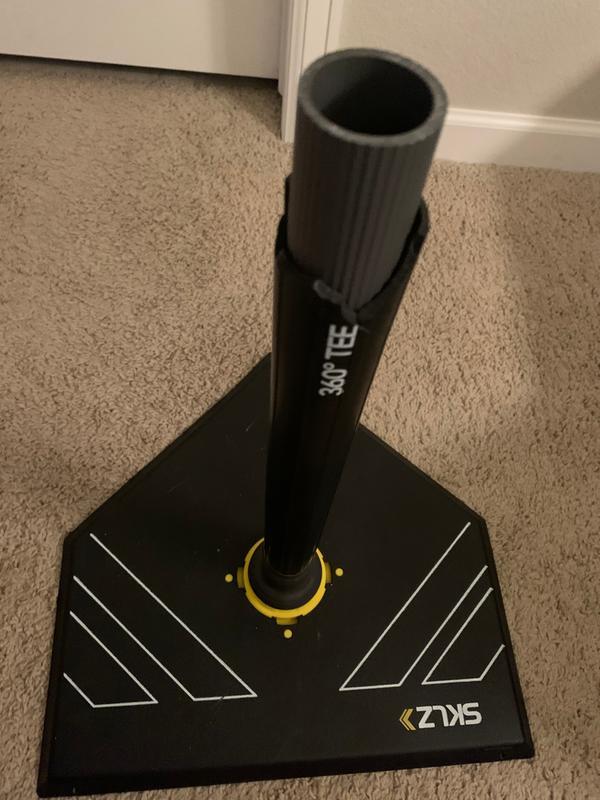 SKLZ 360 Degree Adjustable Batting Tee Replacement Swivel Tee Post Mount Part