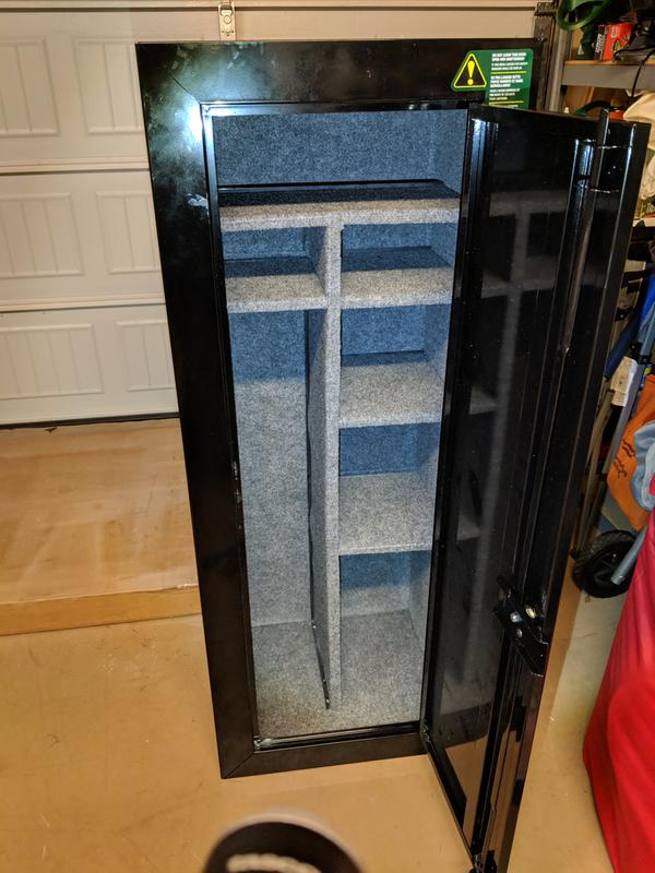 Gun Security Cabinet >> Stack On 18 Gun Fully Convertible Steel Security Cabinet Dick S
