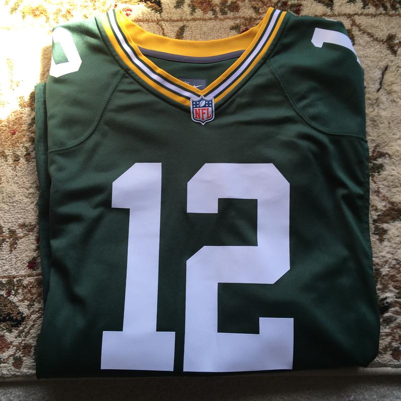 new product 94c65 02234 Nike Men's Home Game Jersey Green Bay Packers Aaron Rodgers #12