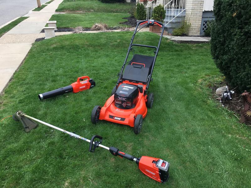 Cordless Lawn Mower | ECHOCordless com