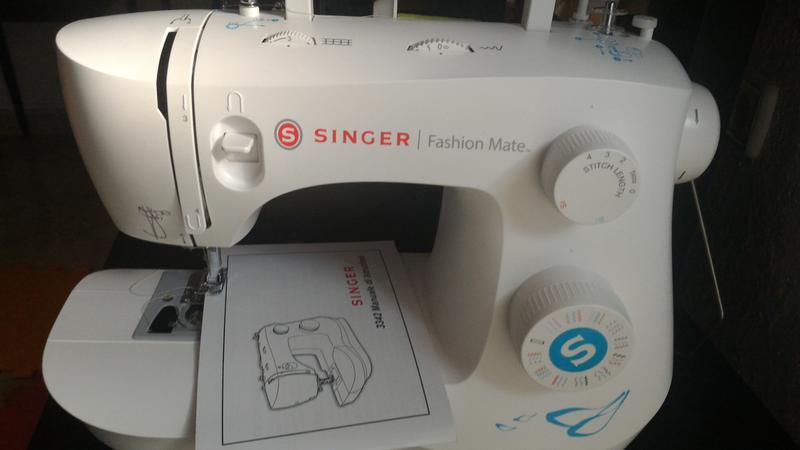 Máquina De Coser Singer 3342 Fashion Mate Con 34 Puntadas
