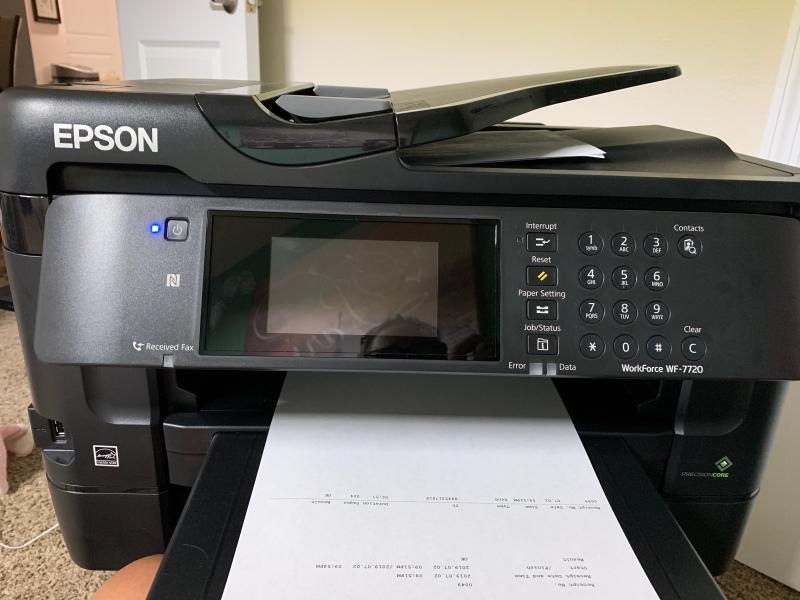 WorkForce WF-7720 Wide-format All-in-One Printer | Inkjet | Printers