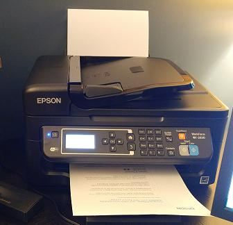 Epson WorkForce WF-2630 All-in-One Printer | Inkjet