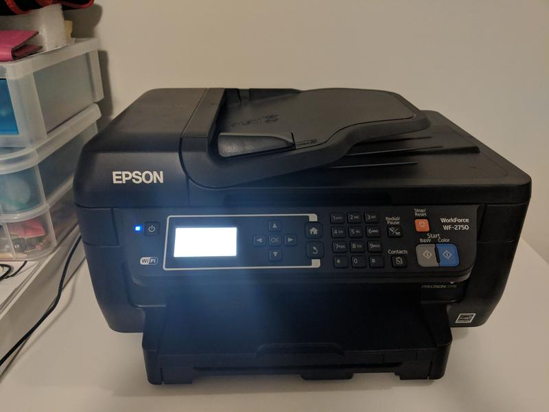 Epson WorkForce WF-2750 All-in-One Printer | Inkjet | Printers | For