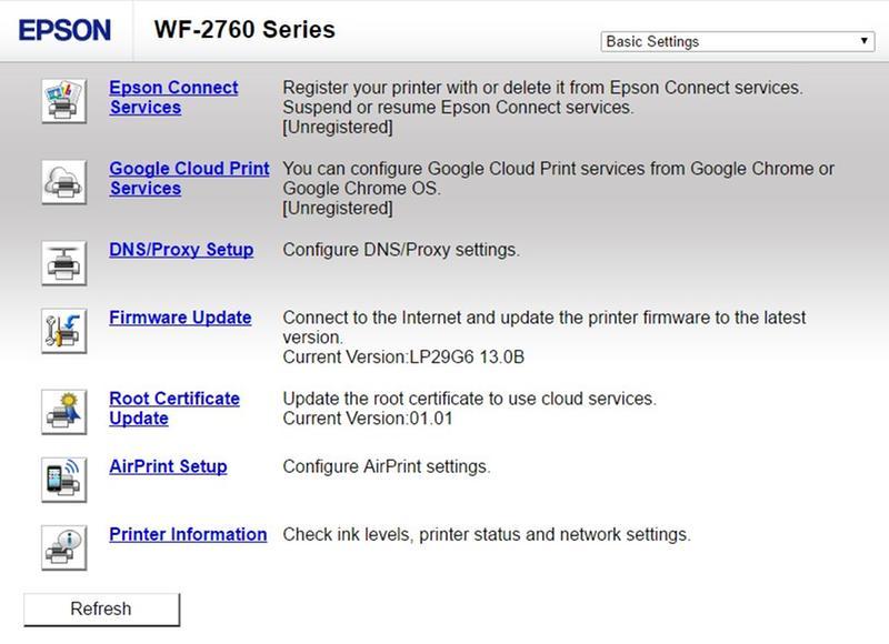 Epson WorkForce WF-2760 All-in-One Printer | Inkjet | Printers | For