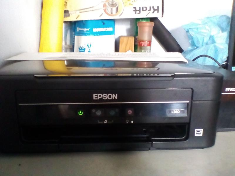 Epson L360 All in One Ink Tank Printer Ink Tank System Epson India