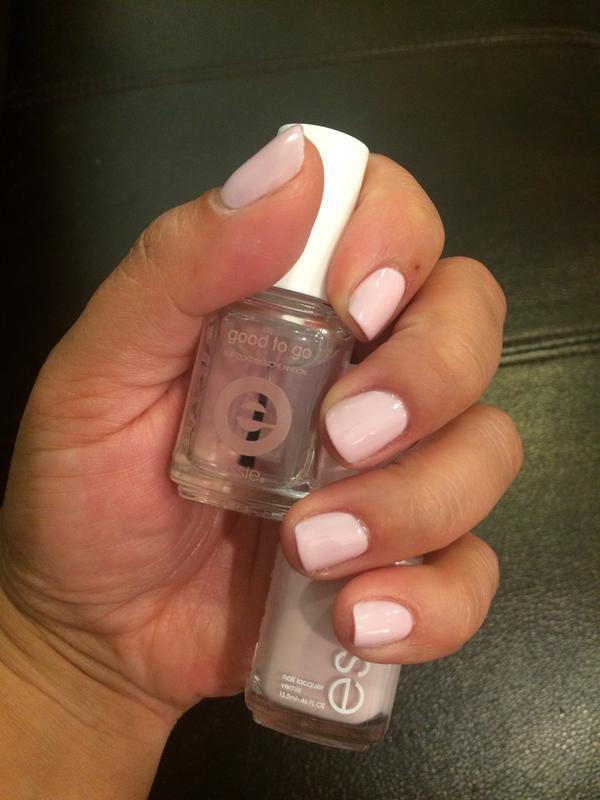 minimalistic - light pink nail polish, nail color & lacquer - essie