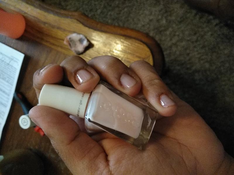 couture curator - coral peach gel nail polish, color & lacquer - essie