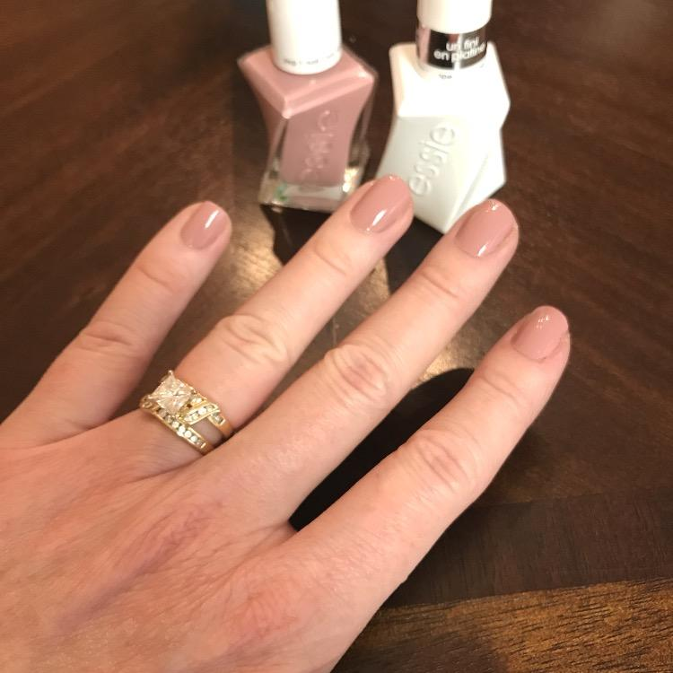 prince charming - rose mauve gel nail polish & nail color - essie