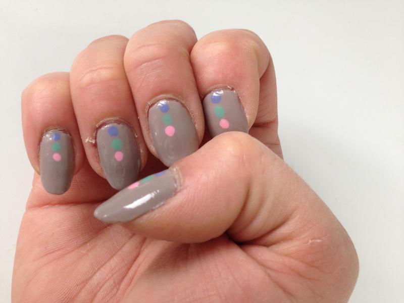 master plan - soft light gray nail polish & nail color - essie