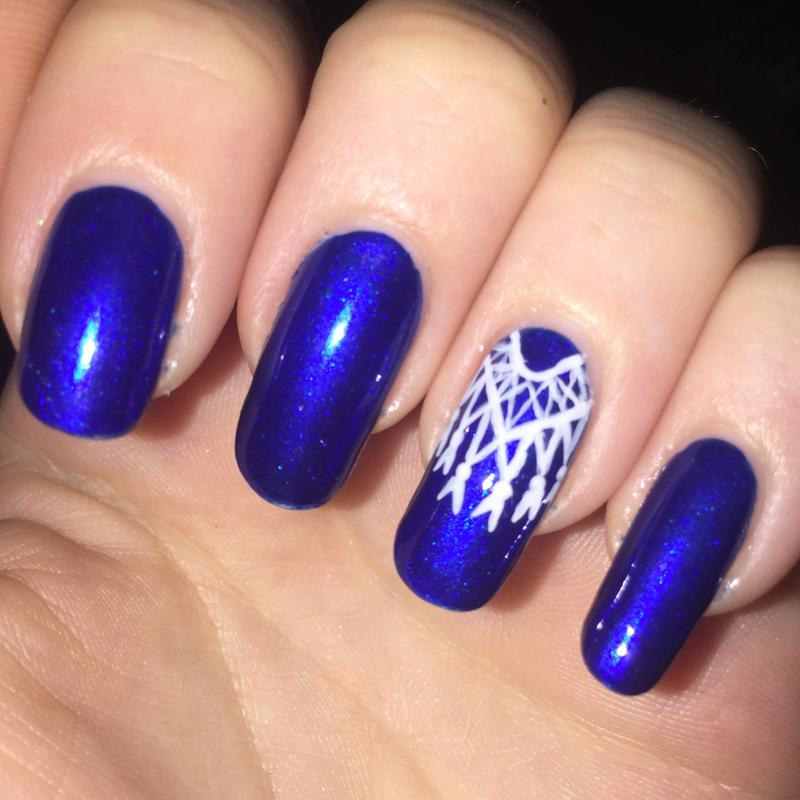 aruba blue - metallic blue nail polish & nail color - essie
