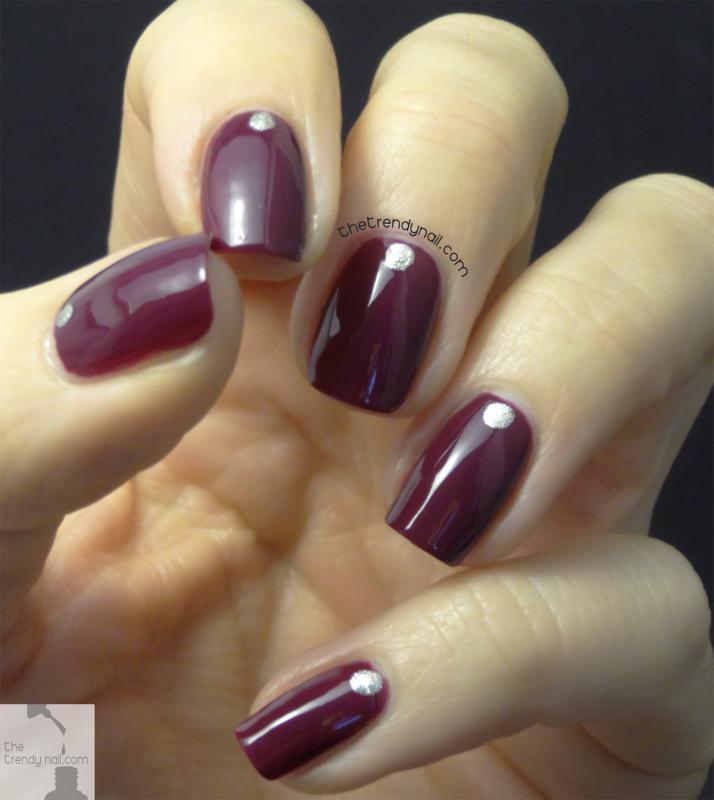 bahama mama - warm rich purple plum nail polish & nail color - essie