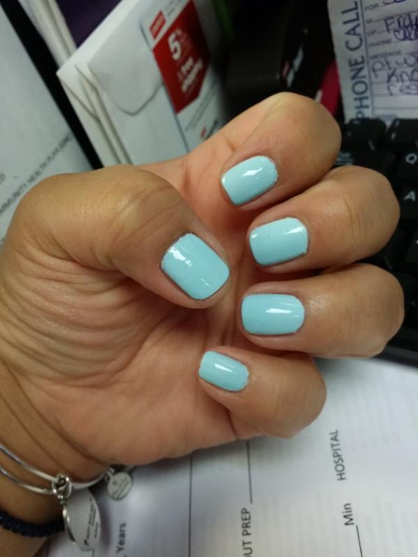 mint candy apple - mint green nail polish & nail color - essie