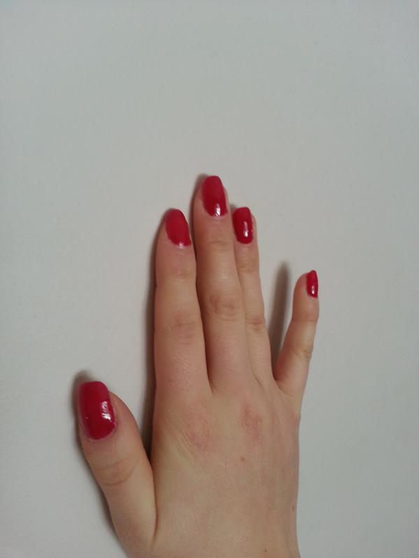 plumberry - creamy berry pink nail polish, color & lacquer - essie