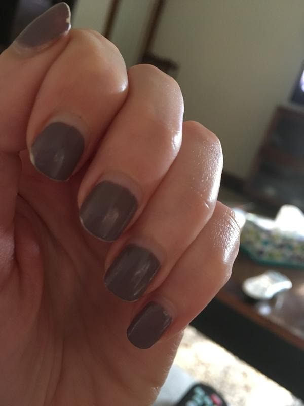 Day 6 Left Hand It S Shrunk Very Far From The Cuticle
