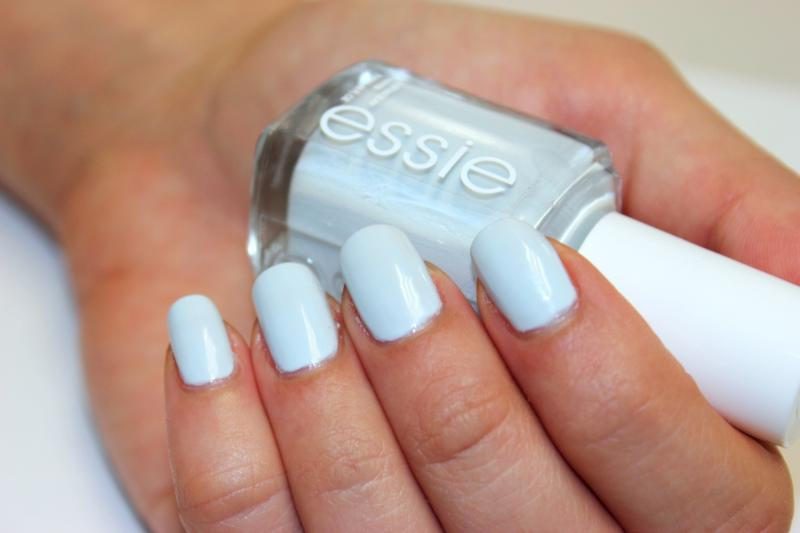 find me an oasis - ice blue nail polish & nail color - essie