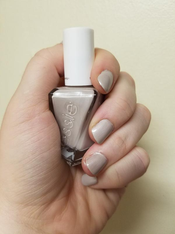 make the cut - nude greige gel nail polish, color & lacquer - essie