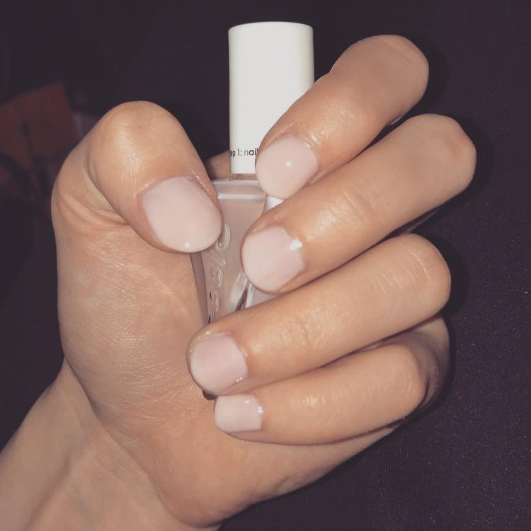 sheer fantasy - sheer pink gel nail polish, color & lacquer - essie