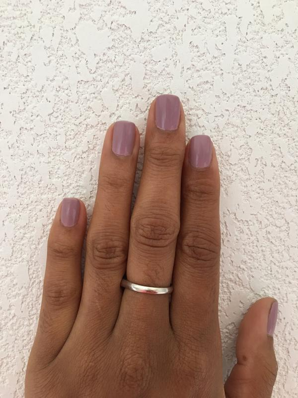 touch up - mauve pink gel nail polish, nail color & lacquer - essie