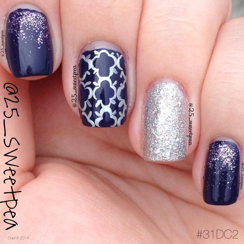 no more film - dark violet nail polish & nail color - essie