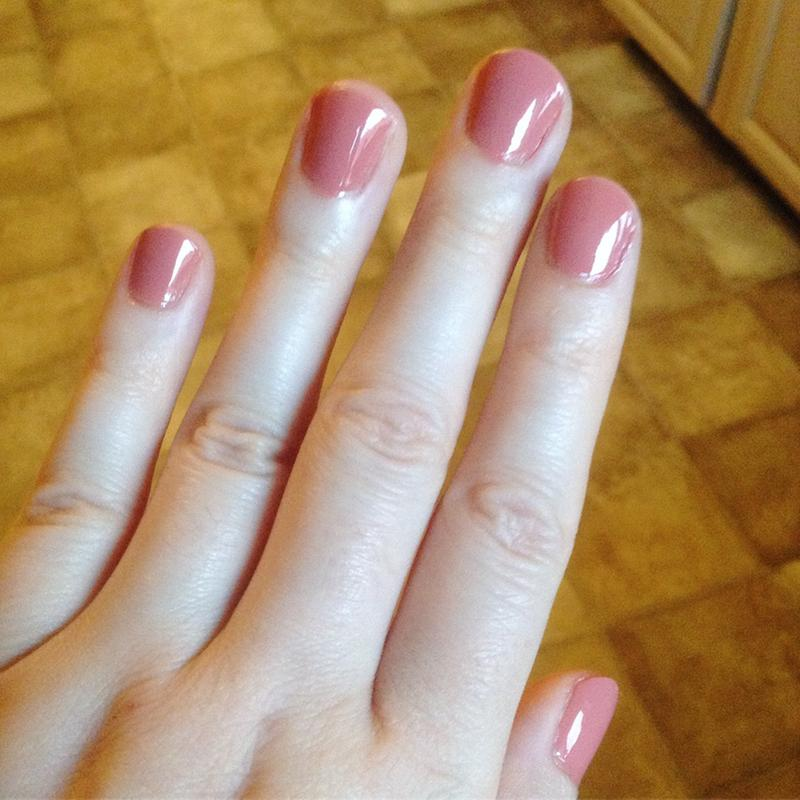 pinned up - spicy pink rose gel nail polish, color & lacquer - essie