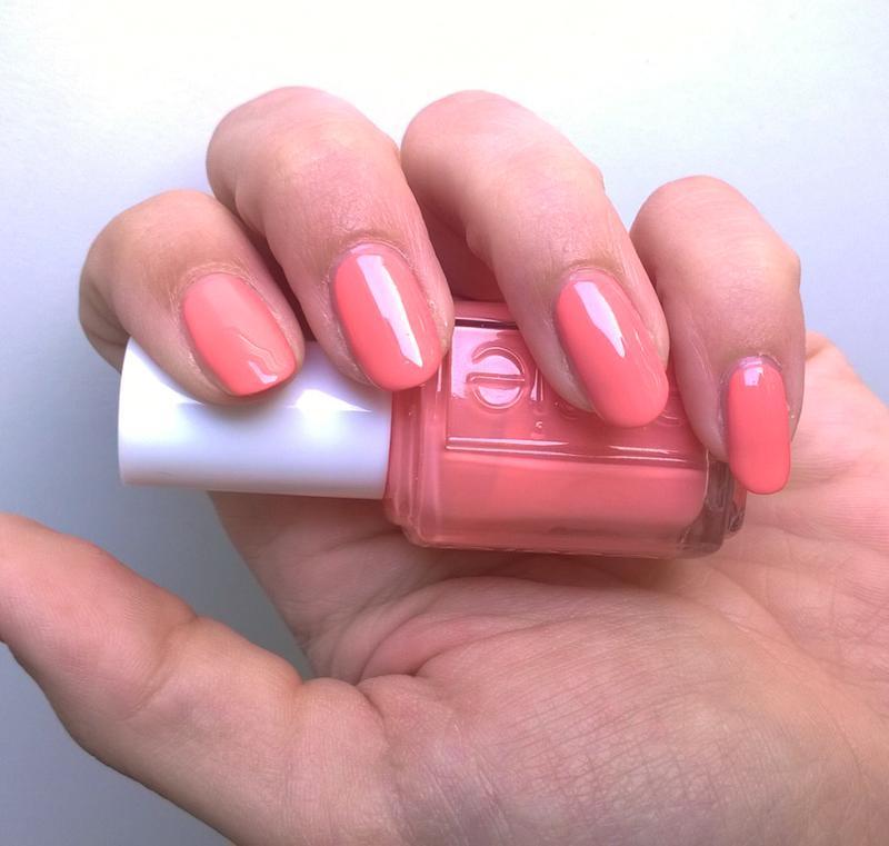 peach side babe - peach nail polish, nail color & nail lacquer - essie