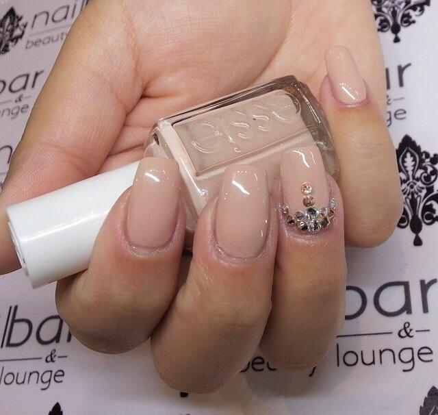 Spin The Bottle Semi Sheer Nude Nail Polish Color Lacquer Essie
