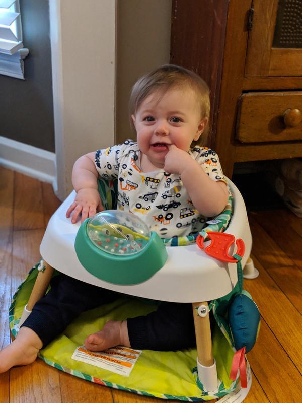 8235e2fa8 Tiny Tropics 2-IN-1 Baby Seat + Door Jumper - Evenflo