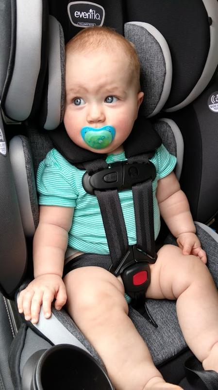 Everystage Dlx All In One Convertible Car Seat