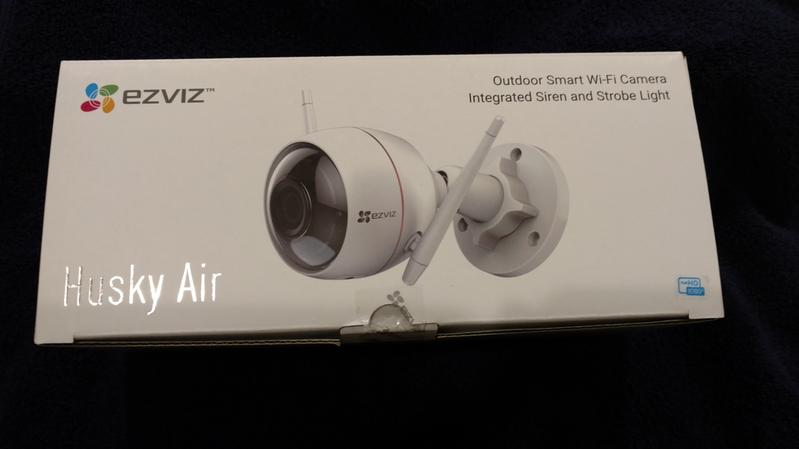 C3W (ezGuard) - EZVIZ Wi-Fi Security Camera