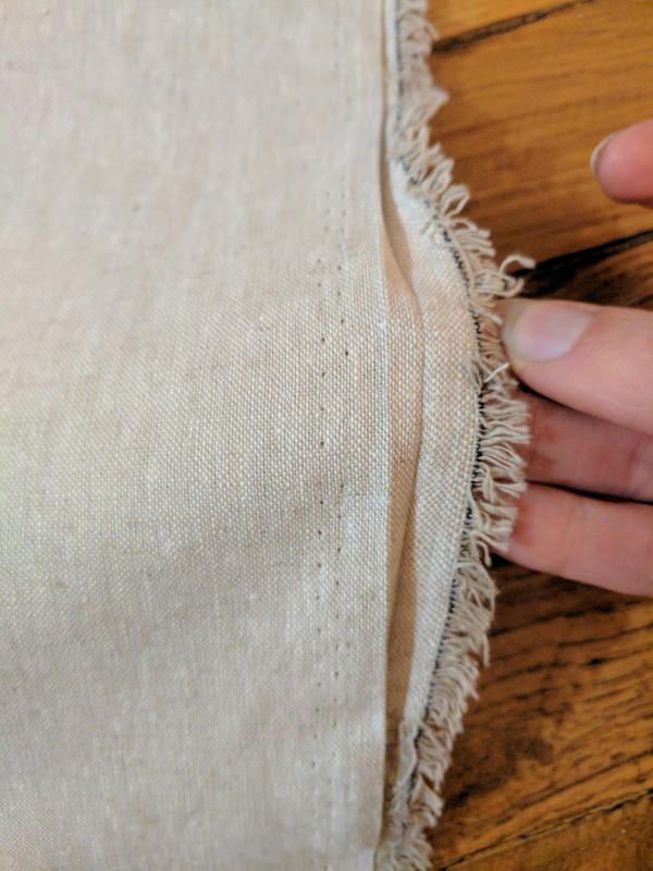 Kaufman Essex Yarn Dyed Linen Blend Flax Fabric