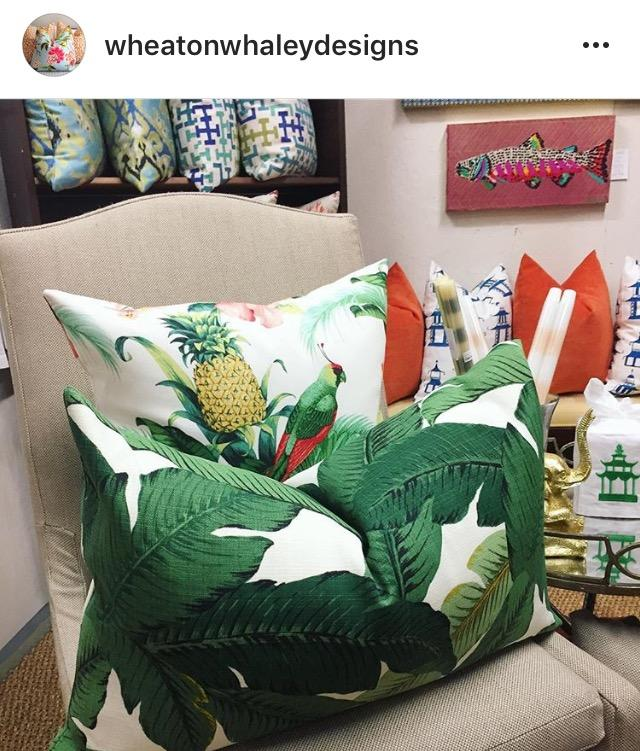 Tommy Bahama And Pineapple Outdoor (also On Fabric.com)