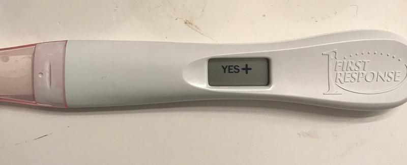 Gold Digital Pregnancy Test First Response