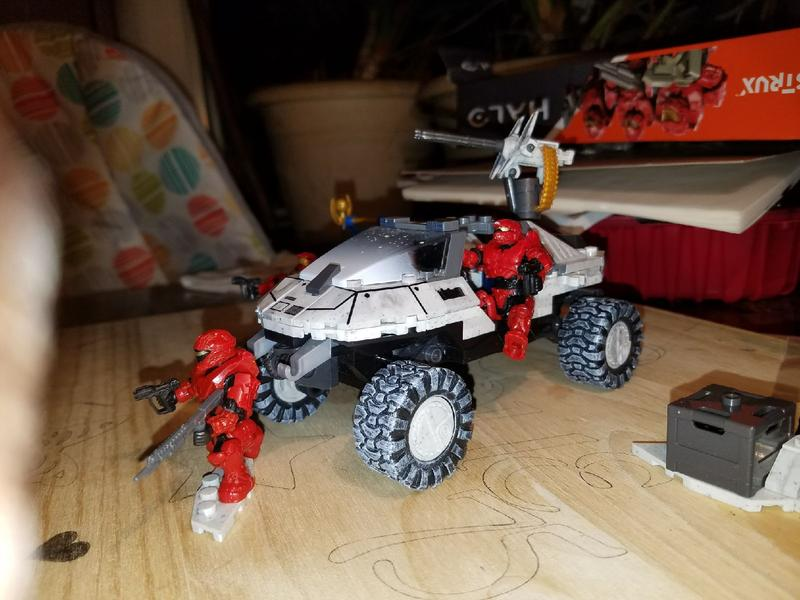 Mega Construx™ Halo® CTF Arctic Warthog