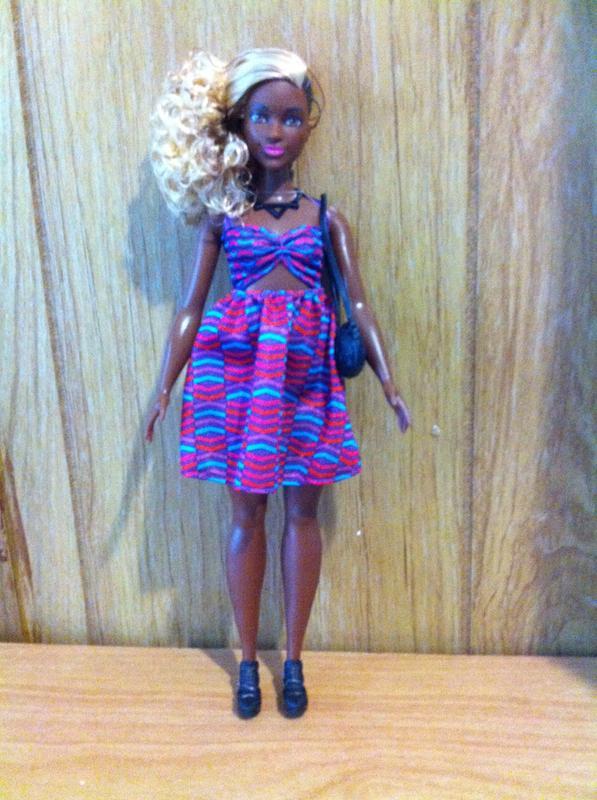 3c93fdba98 Barbie Fashionistas Doll 57 Zig   Zag - Curvy