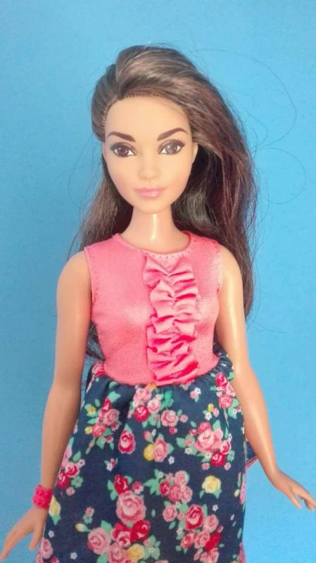 Barbie Fashionistas Doll # 26 Spring Into Style Curvy Brunette Nrfb S5