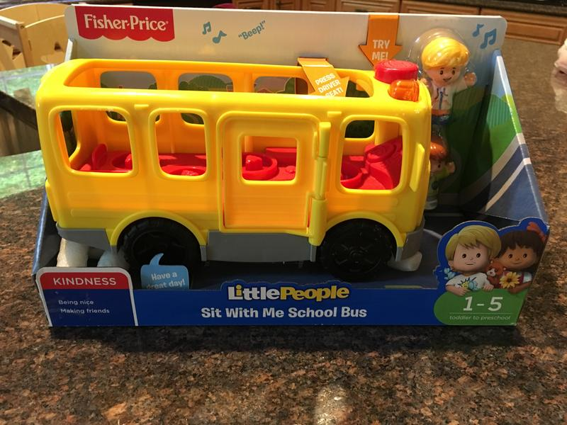 Little People Sit with Me School Bus | DJB52 | Fisher-Price