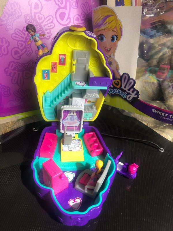 MATTEL Polly Pocket-Tasca piccolo mondo compatto Playset-Scegli il Tuo Set!