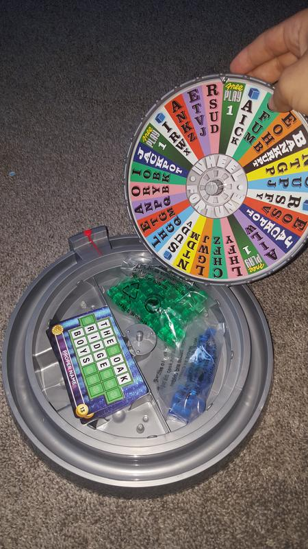 wheel of fortune bingo game | ffv27 | mattel shop, Powerpoint templates