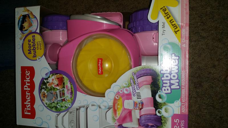 Bubble Mower Pink Cgm04 Fisher Price