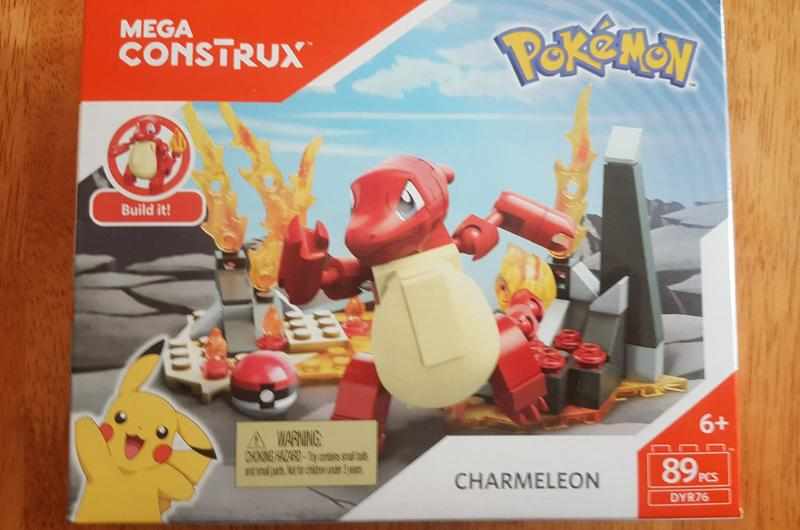 Mega Construx Blöcke Pokemon Charmeleon 89 St. Baukästen & Konstruktion