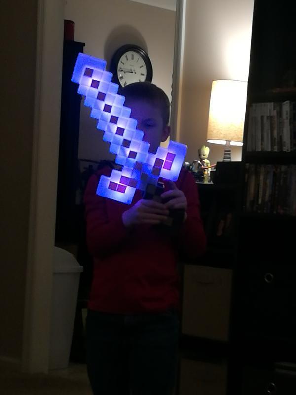 Minecraft® Light-Up Adventure Sword