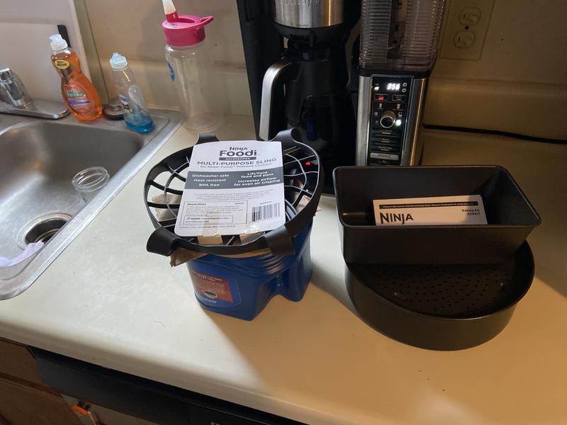 Ninja Foodi 2-Piece Bakeware Set Black