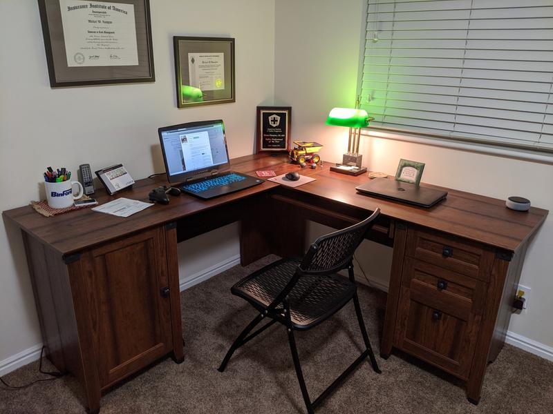carson forge corner puter desk jsp
