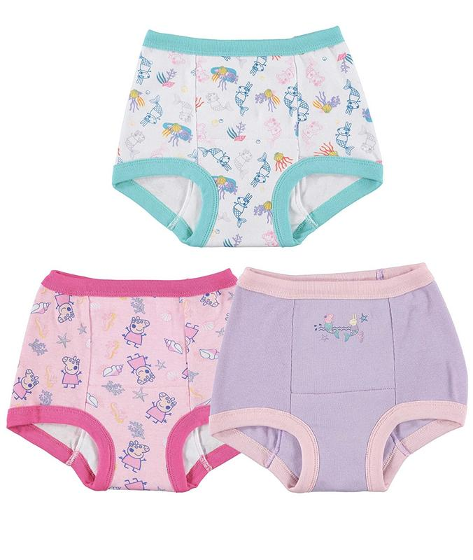 Peppa Pig Girls Toddler 7k Potty Training Pant
