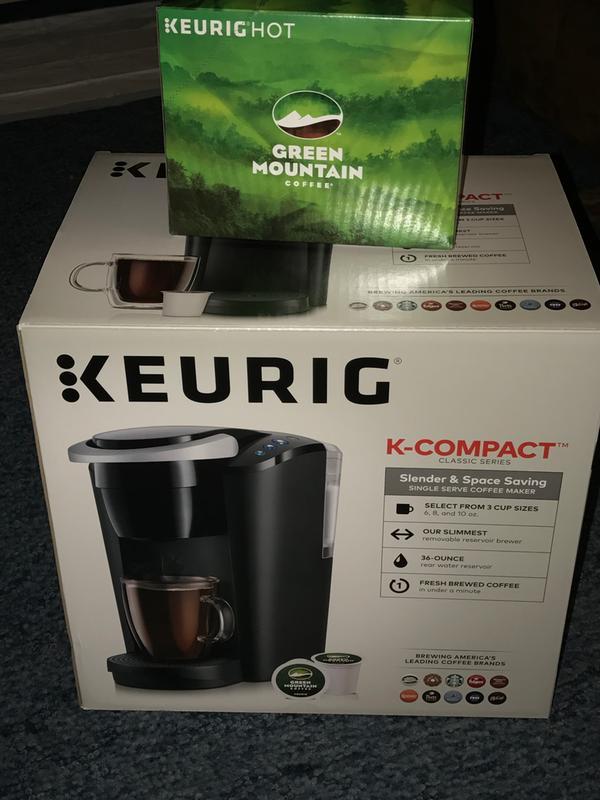 Keurig K Compact Single Serve Coffee Maker