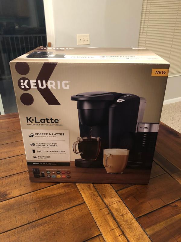 Keurig K Latte Single Serve Coffee And Latte Maker