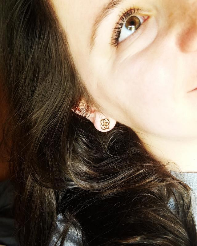 5a2d3b303 The Dira ♡. Originally posted on Dira Stud Earrings ...
