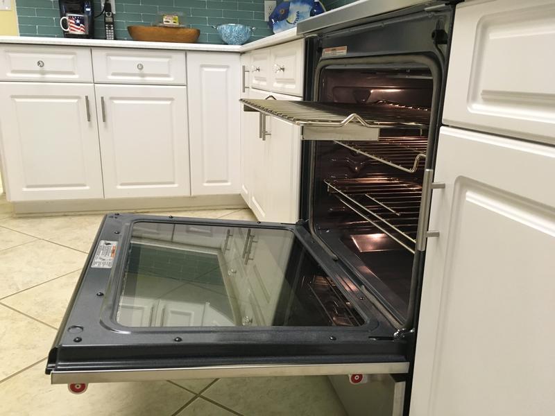 Cuisinière électrique à convection, 5 éléments et tiroir-réchaud ...